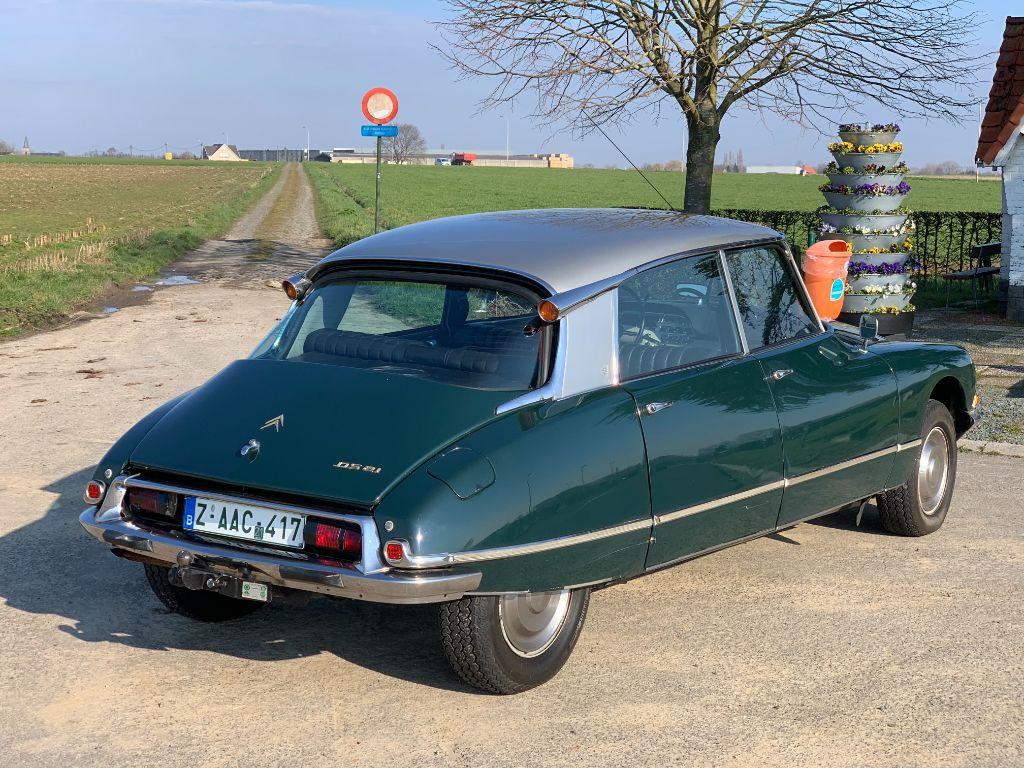 Citroën - DS 21 Pallas 1967 - BVH